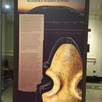 """Numerous posters and displays explain what goes on at famous """"digs"""" such as the hills of Tara"""