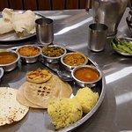 Gujarati Thali - Roti