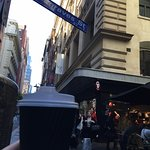 doing what everyone does...having a coffee on Degraves Street right next to the hotel. Charming.