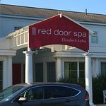 Red Door Spa-not impressed. The grounds of the adults-only pool area.