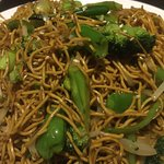 Canton Bay Chinese Restaurant and Bar. Vegetarian noodles, Beef Szechuan, Crispy Chicken & Redbe