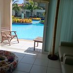 Quarto com piscina na varanda (bungalô)
