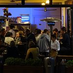Shows how small this restaurant is