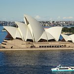 Taken from the Sydney Bridge