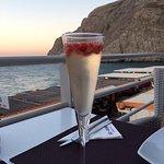Cocktail champagne fraise délicieux !