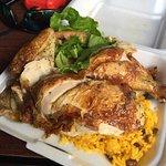1/2 Chicken plate