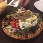 Otra cena buenisima en dall italiano , espectacular la burrata con trufa i la carne .