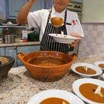 Serving up the Sopa Tarasca