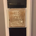 Old school mail slot