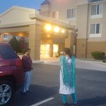 outside view of Fairfield Inn & Suites by Marriott , Beea, Kentucky
