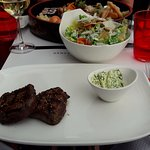 Rinderfilet + Caesars Salad