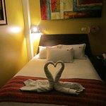 Foto de Terrazas del Inca bed and breakfast Hostal
