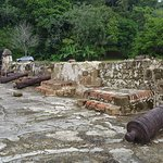 The grounds of the Portobelo fort. Could use some more preservation.