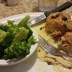 Thursday night dinner special Chicken Spiedini