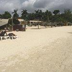 Negril beach - seven mile long near Margaritaville