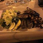 Stinco di Abbacchio Arrosto - oven roast shank of lamb with mush potato