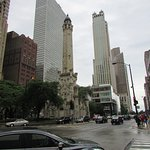 The iconic Water Tower on Michigan Ave.