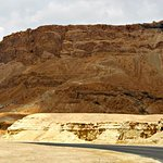 Masada itself from the ground