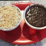 our all time favorite rice & beans as side orders size of a soup cup