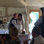 Our lovely wedding day made all the better for the staff at The Royal Oak!