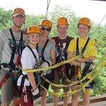 Foto de Asheville Zipline Canopy Adventures