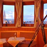 Beautiful view of Dublin Bay from Bistro 73.