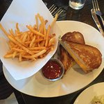 the best grilled cheese sandwich in the world.....