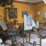 Artist Studio behind Ancien Hotel Baudy.