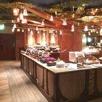 Salle petit-déjeuner Golden Forest