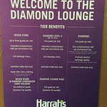 New Diamond Lounge Rules, effective July 2016.