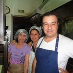 The chef and cooking staff at Skiathos. Thank you!!!