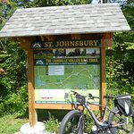 Trail head at St Johnsbury