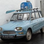 le genre de voiture qu'on peut voir à l'Ile d'Yeu