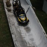 The bobsled ride