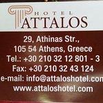 Foto de Attalos Hotel