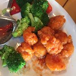 Firecracker shrimp and Hunan beef are fabulous