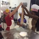 Kids Cooking Party 6/9/16