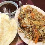 Very very yummy moo shu pork