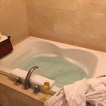 Jacuzzi tub in a Junior Suite