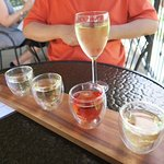 White wine flight