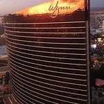 Our view from the Encore to adjacent Wynn
