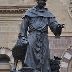 St. Francis with wolf