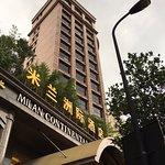 the 19-floor hotel