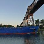 Rendsburg Transporter Bridge (Schwebefaehre) Foto