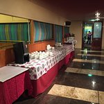 Continental Breakfast Buffet Tables