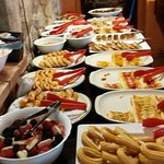 photo ,une partie du buffet