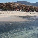 Strand von Elafonissi Foto