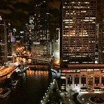 Night time on the Riverwalk