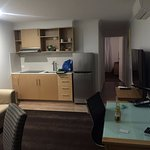 Lounge Room, huge TV and all amenities, large fridge and Microwave