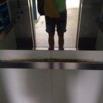 Moldy smelly elevator